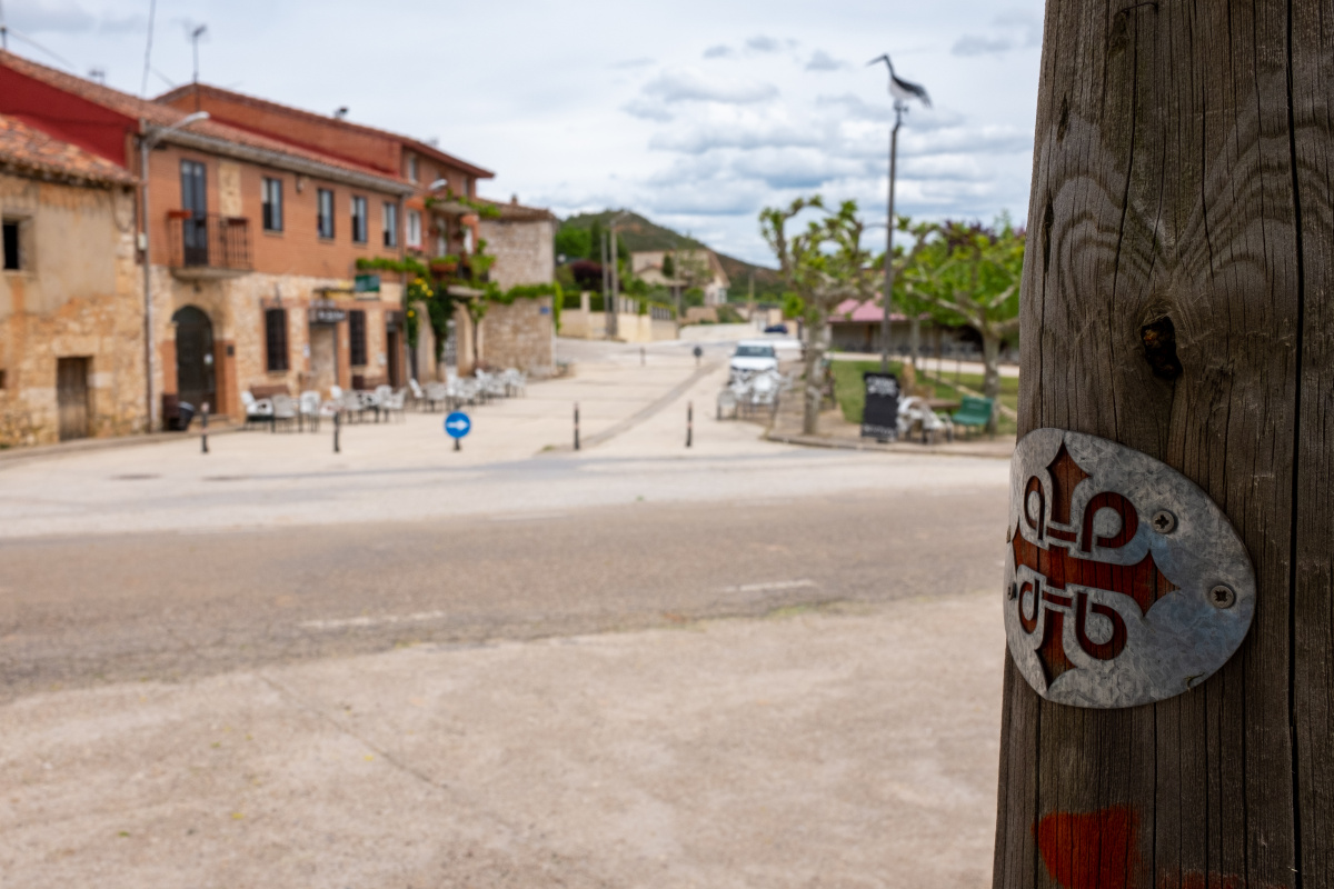 Photo of Modúbar de la Cuesta on the Camino de Santiago