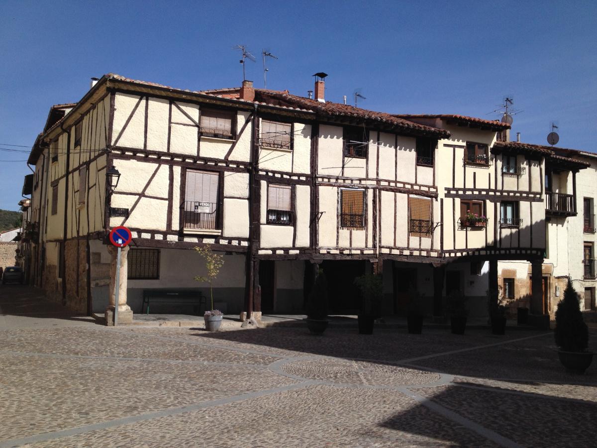Photo of Covarrubias on the Camino de Santiago