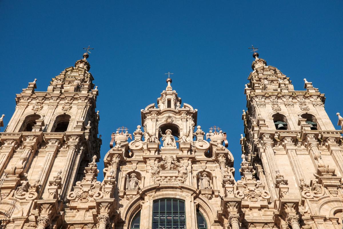 Photo of Santiago de Compostela on the Camino de Santiago