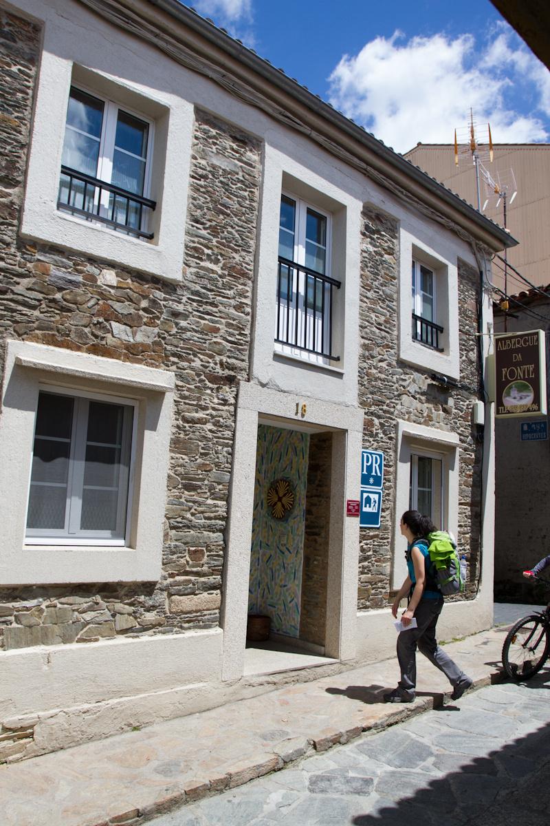 Camino de Santiago Accommodation: Albergue da Fonte