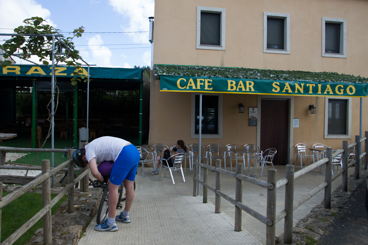 Photo in Albergue Santiago on the Camino de Santiago