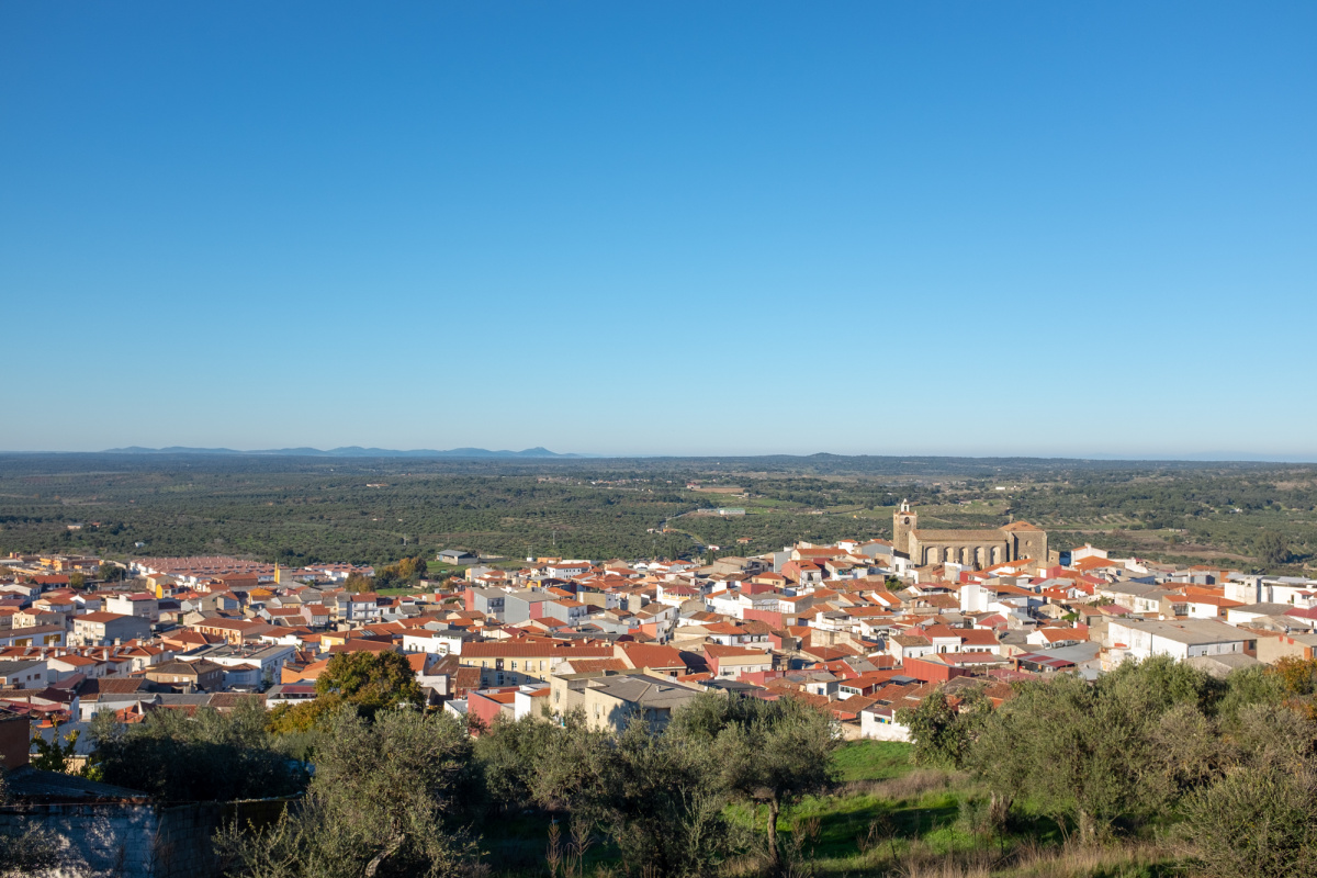 Photo of Alcuéscar on the Camino de Santiago