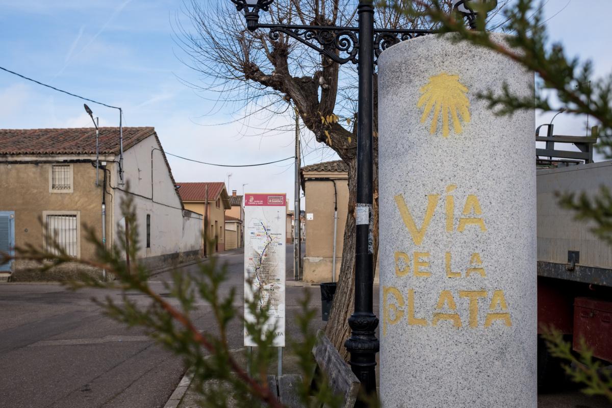 Photo of Roales del Pan on the Camino de Santiago