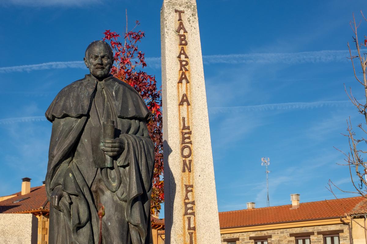 Photo of Tábara on the Camino de Santiago