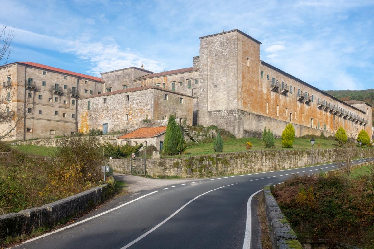 Photo of Oseira on the Camino de Santiago