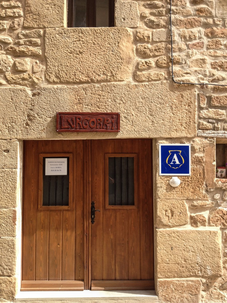 Camino de Santiago Accommodation: Albergue de peregrinos Lurgorri