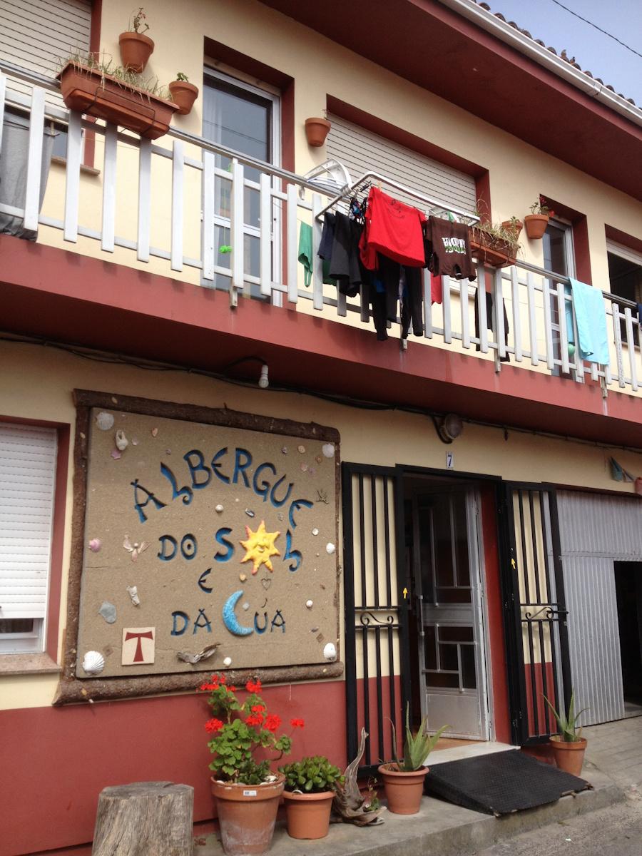Camino de Santiago Accommodation: Albergue do Sol e da Lúa