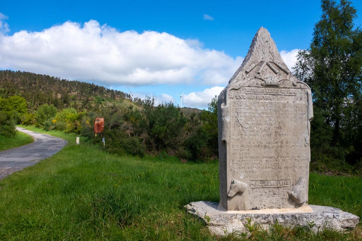 Photo of Alto de Faro on the Camino de Santiago