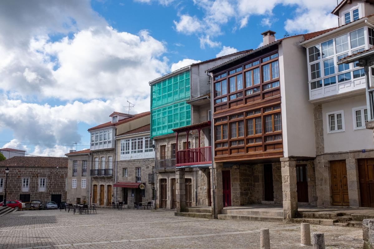 Photo of Chantada on the Camino de Santiago