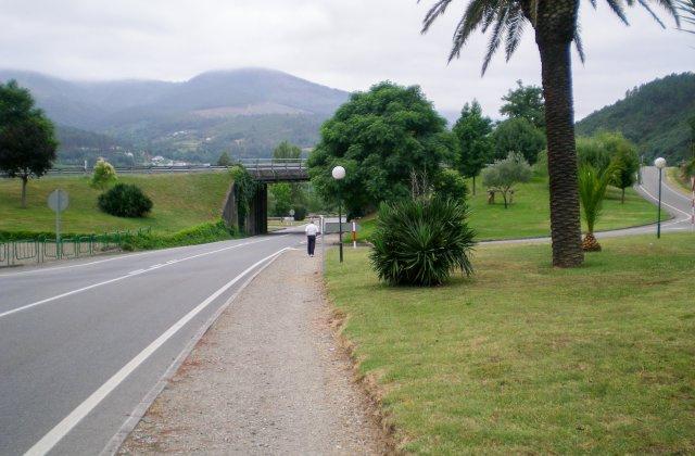 Photo of Quiroga on the Camino de Santiago