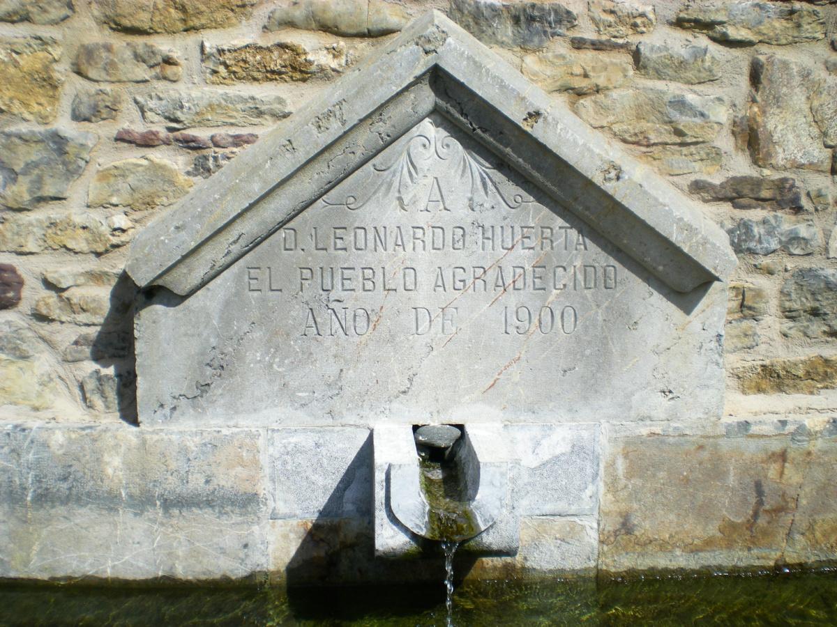Photo of Búiza on the Camino de Santiago