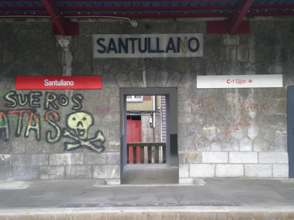 Photo of Santullano on the Camino de Santiago
