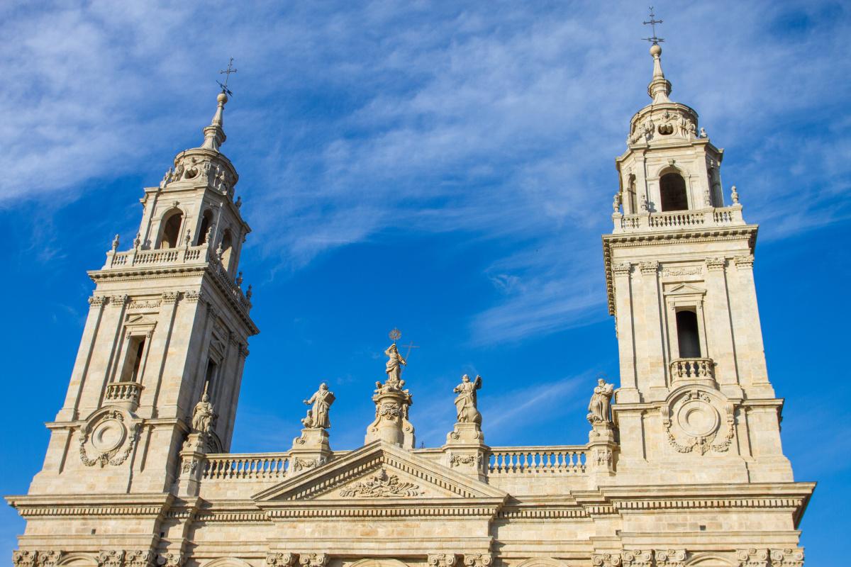 Photo of Lugo on the Camino de Santiago