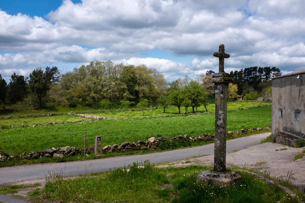 Photo of A Eirexe (Rodeiro) on the Camino de Santiago