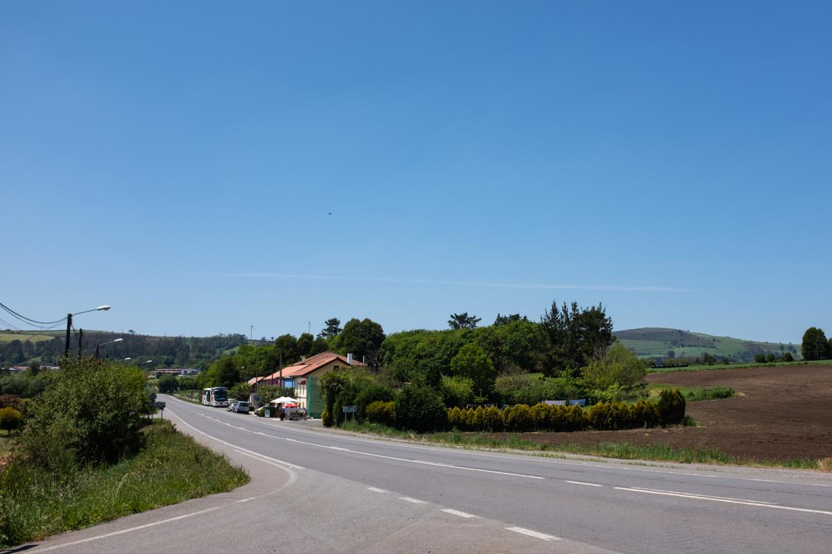 Photo of Lamelas on the Camino de Santiago