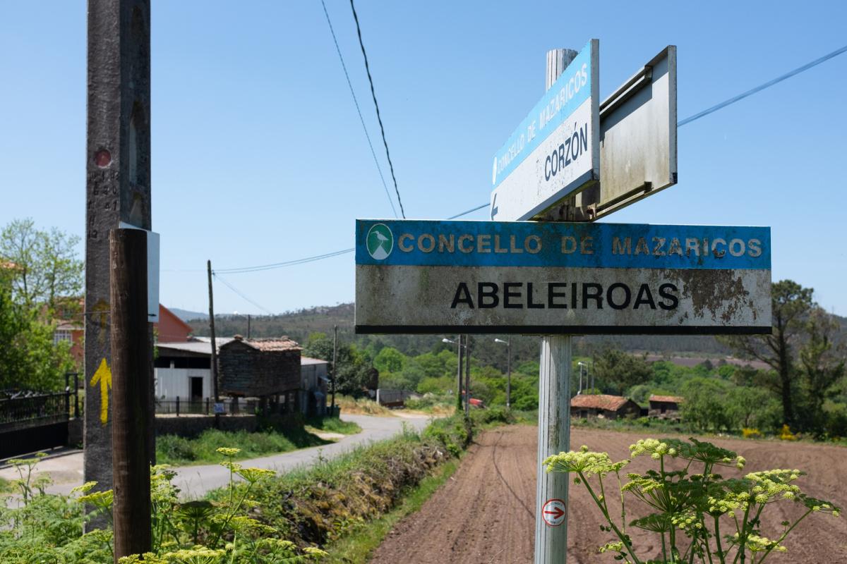 Photo of As Abeleiroas on the Camino de Santiago
