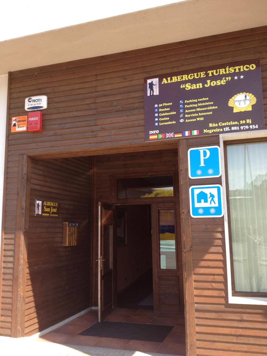 Camino de Santiago Accommodation: Albergue Turístico San José