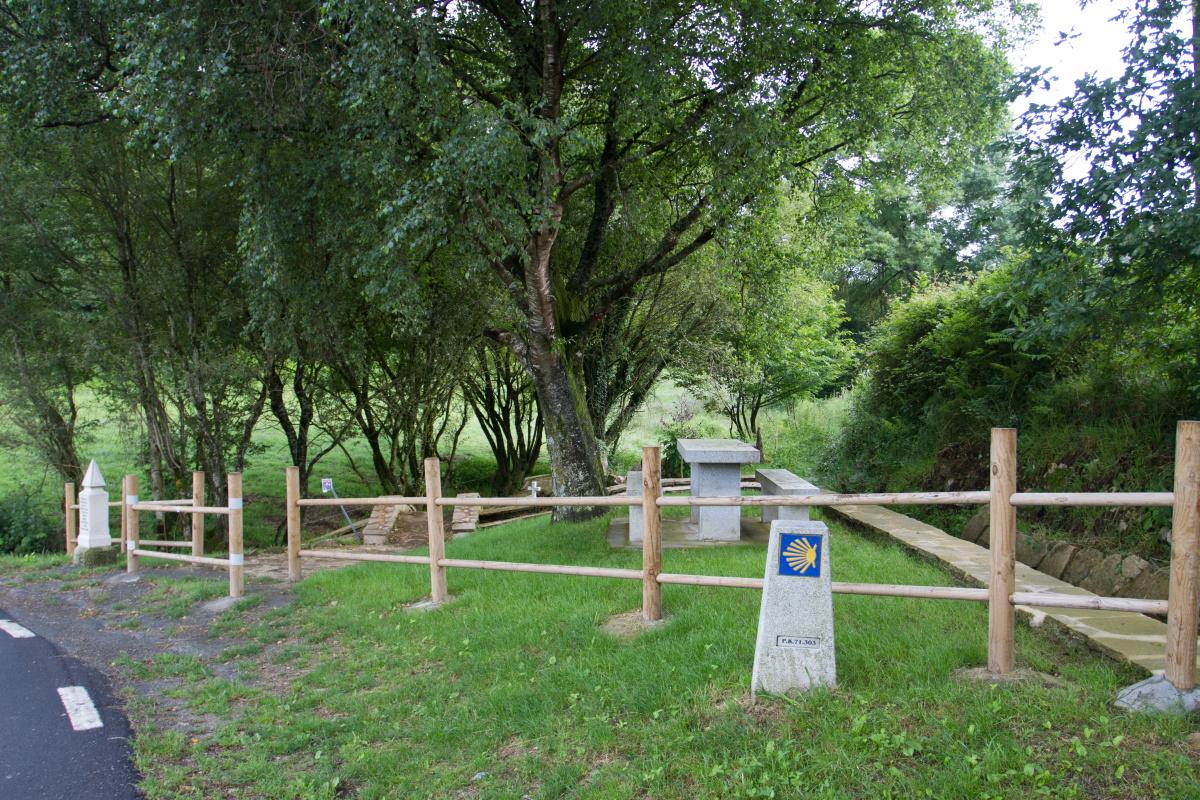 Photo of San Xurxo on the Camino de Santiago