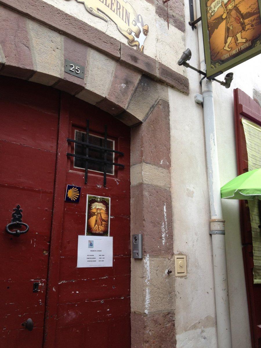 Camino de Santiago Accommodation: Albergue Accueil Pelerin