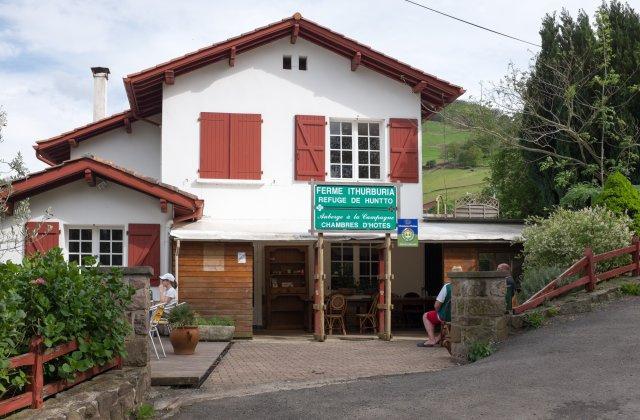 Camino de Santiago Accommodation: Albergue Ferme Ithurburia