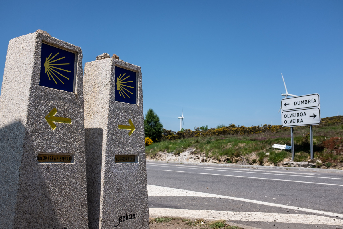 Photo of The Great Divide on the Camino de Santiago