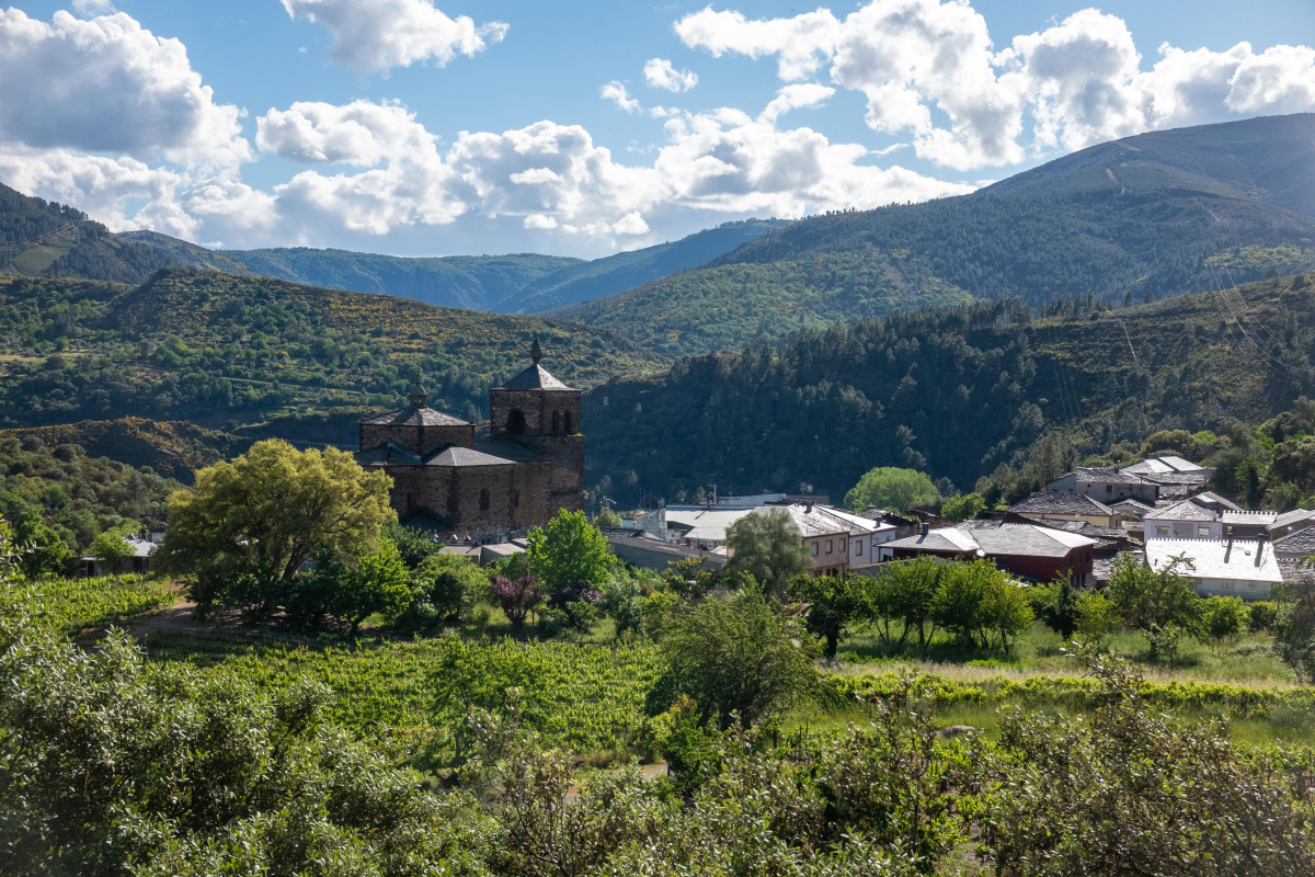 Photo of Montefurado (invierno) on the Camino de Santiago