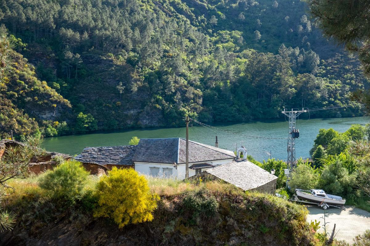 Photo of Soldón on the Camino de Santiago
