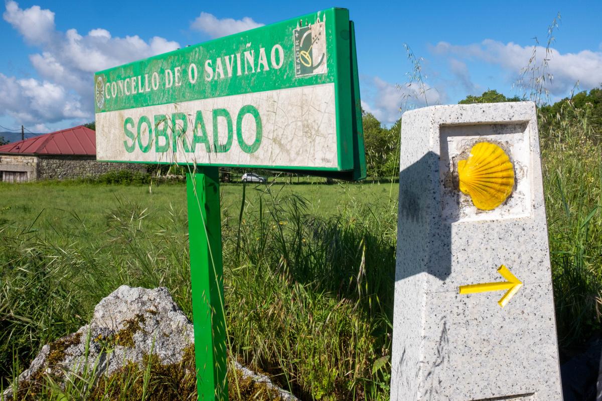 Photo of Sobrado on the Camino de Santiago