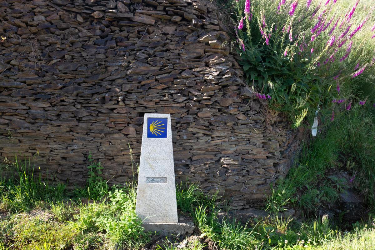 Photo of Hermidon on the Camino de Santiago