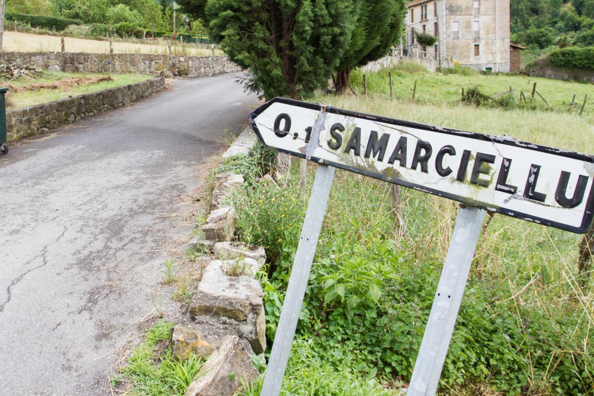 Photo of Samarciellu on the Camino de Santiago