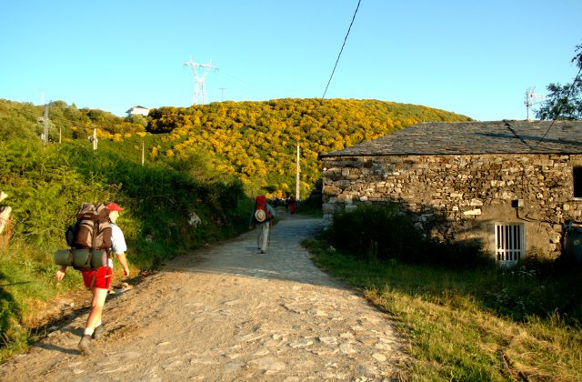 Photo of Alto do Poio on the Camino de Santiago
