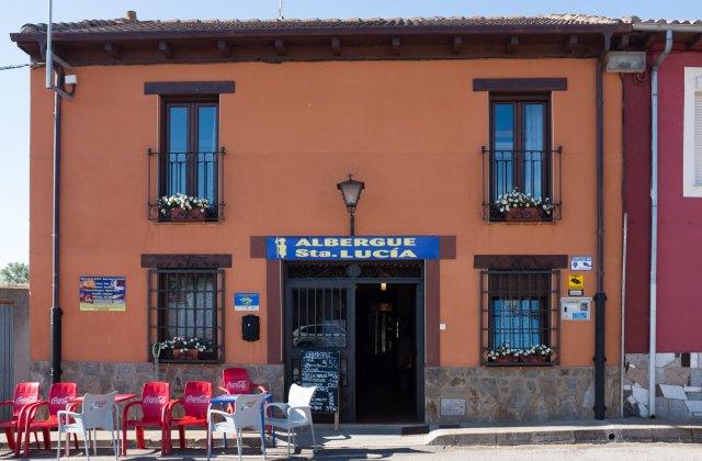 Camino de Santiago Accommodation: Albergue Santa Lucía