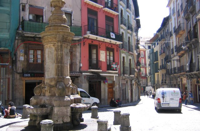 Photo of Pamplona [Iruña] on the Camino de Santiago