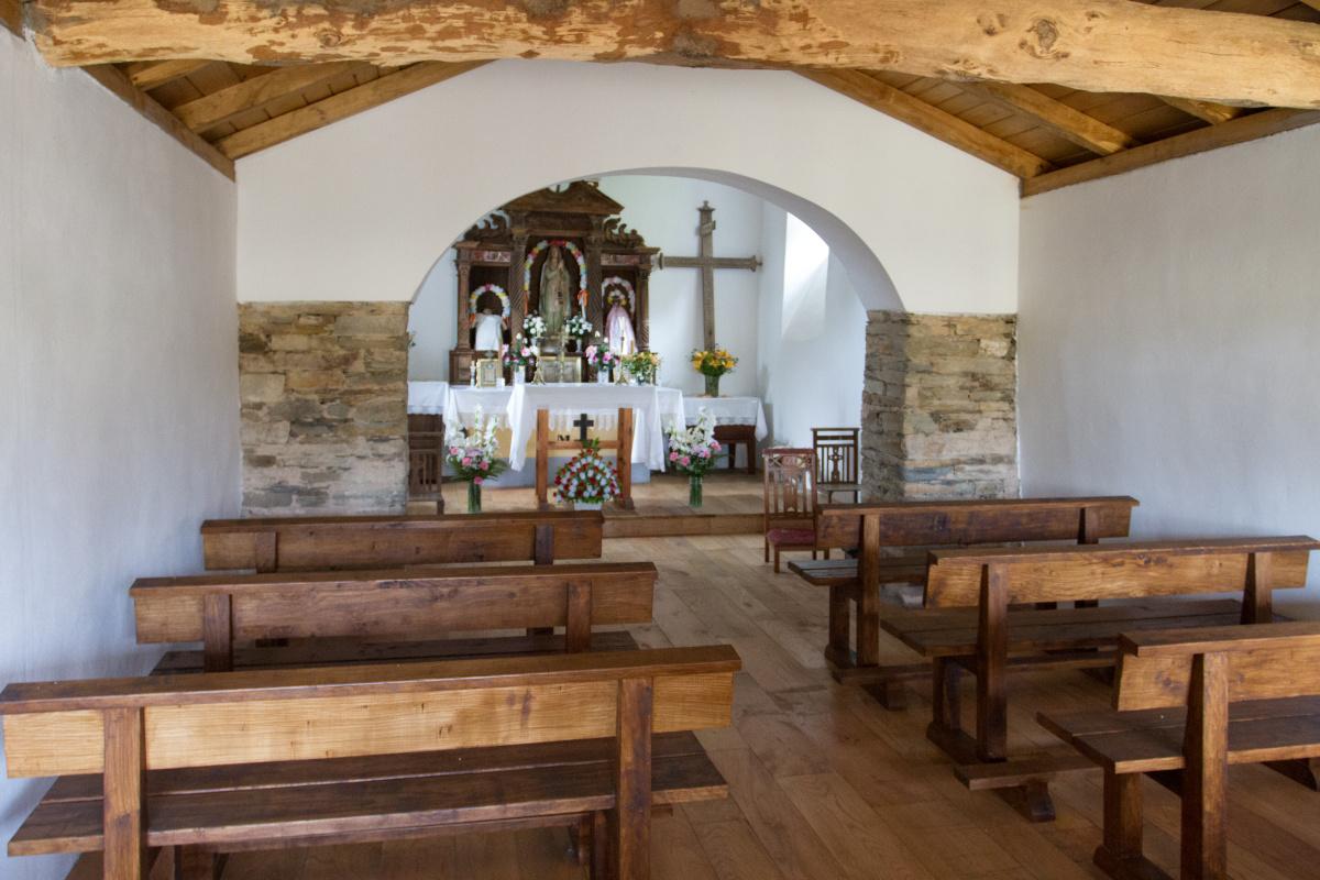 Photo of Capilla de la Esperanza de Malneira on the Camino de Santiago