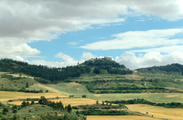 Photo of Obanos on the Camino de Santiago