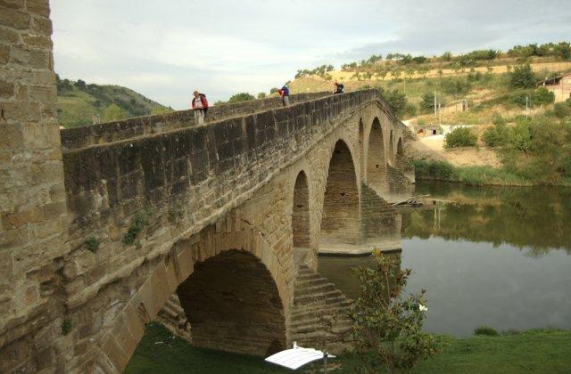 Photo of Puente la Reina [Gares] on the Camino de Santiago