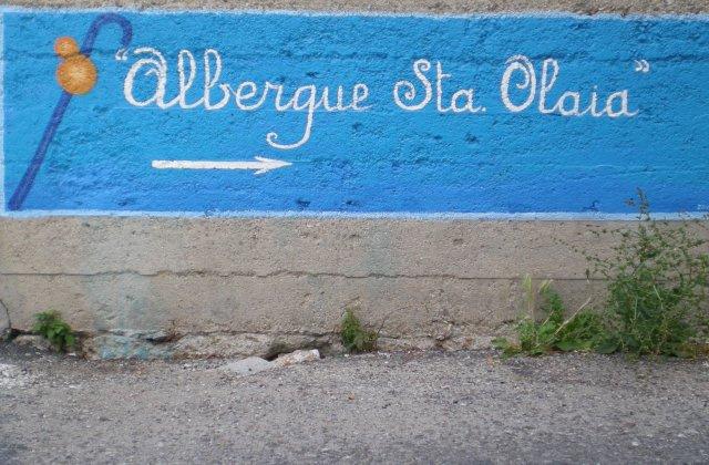 Camino de Santiago Accommodation: Albergue Santa Olaia