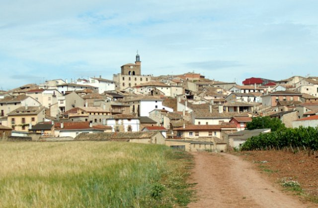 Photo of Cirauqui on the Camino de Santiago