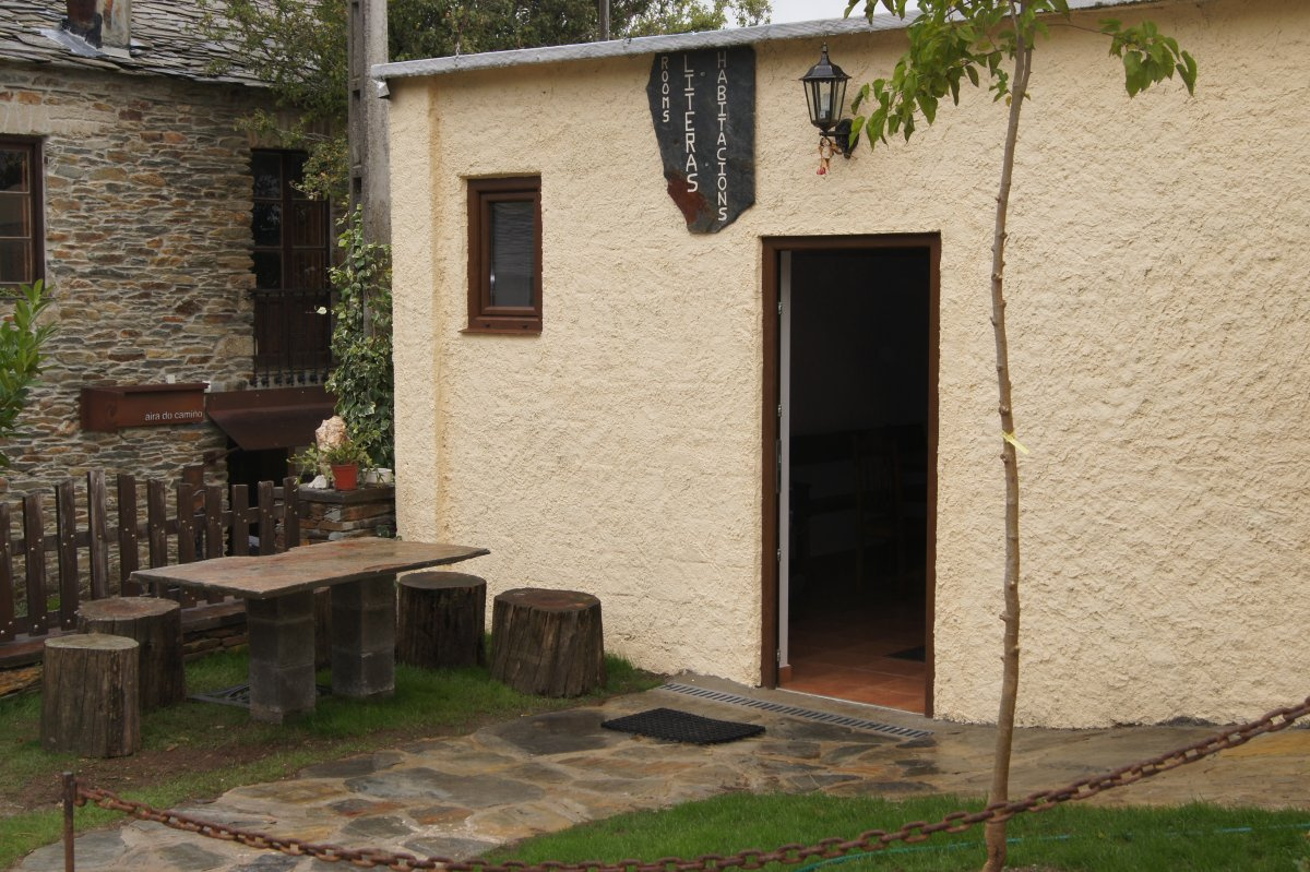 Camino de Santiago Accommodation: Albergue Fillobal