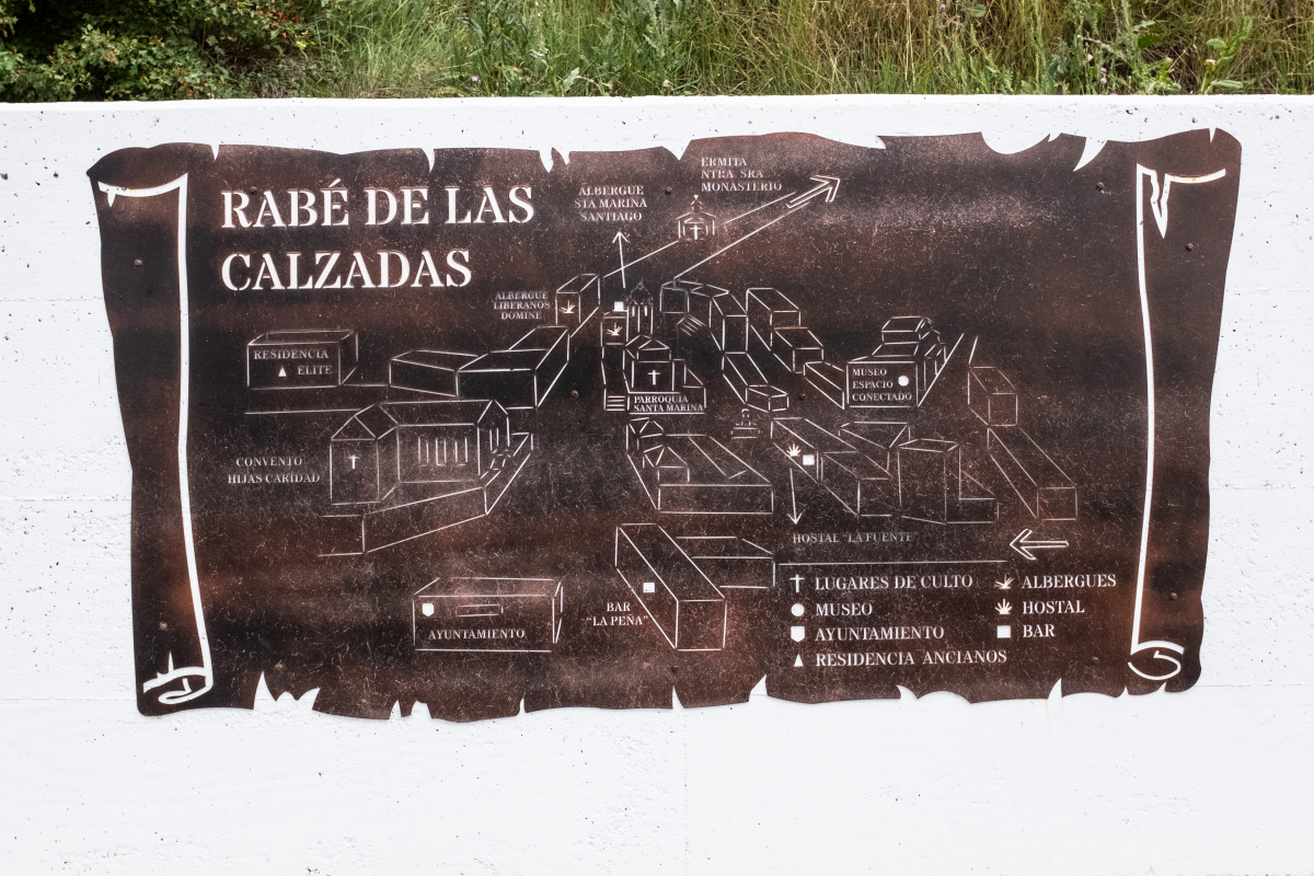 Photo of Rabé de las Calzadas on the Camino de Santiago