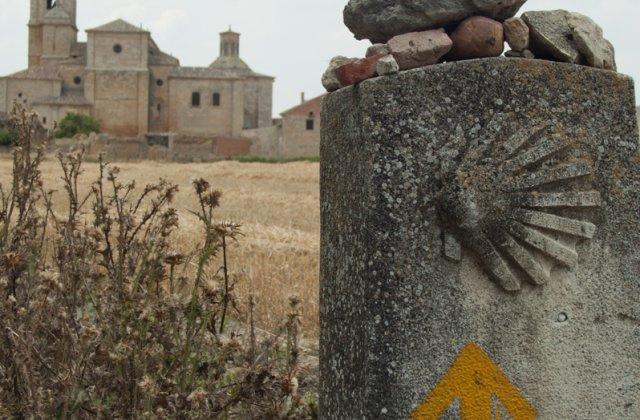 Photo of Castrojeriz on the Camino de Santiago