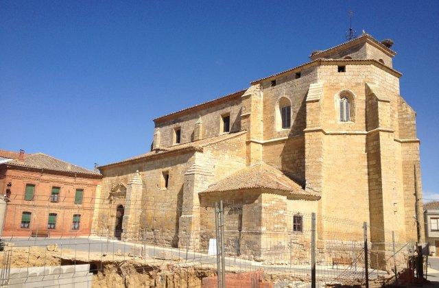 Photo of Boadilla del Camino on the Camino de Santiago