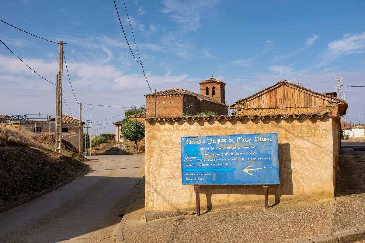 Photo of Terradillos de los Templarios on the Camino de Santiago