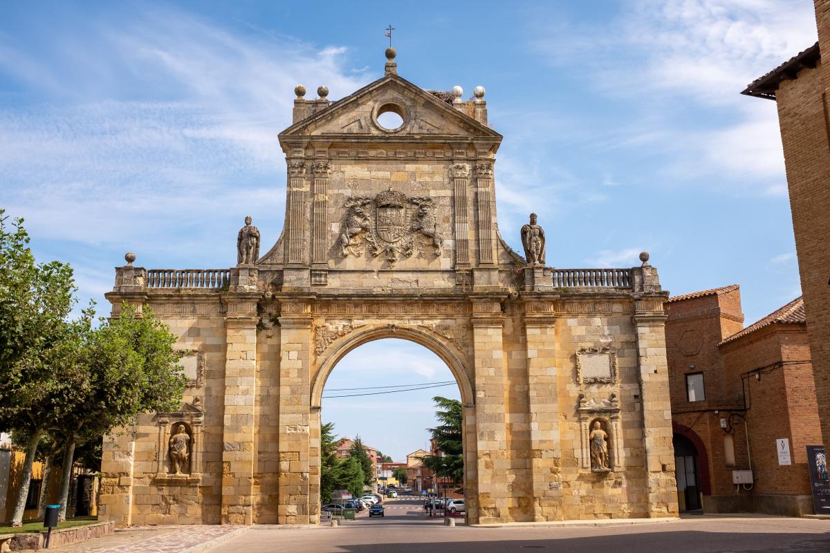 Photo of Sahagún on the Camino de Santiago