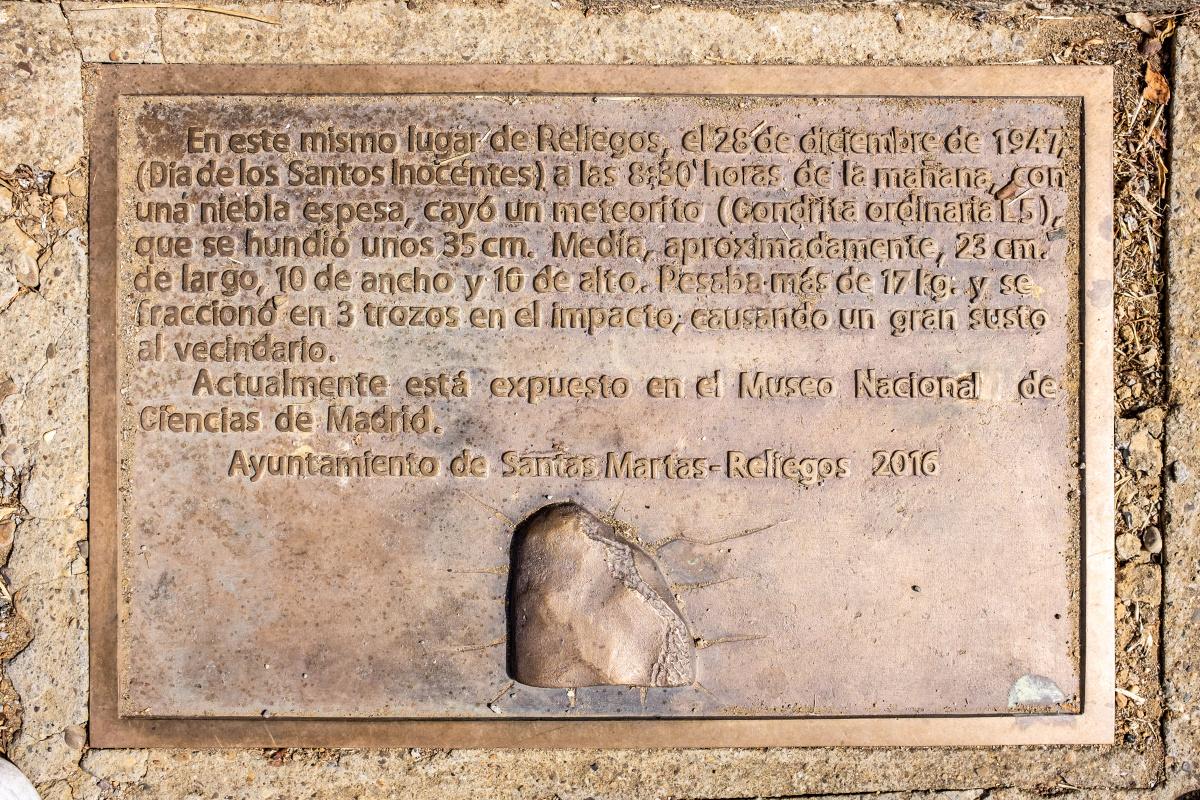 Photo of Reliegos on the Camino de Santiago