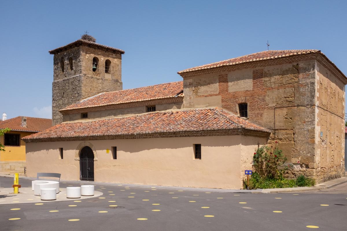Photo of Villamoros de Mansilla on the Camino de Santiago