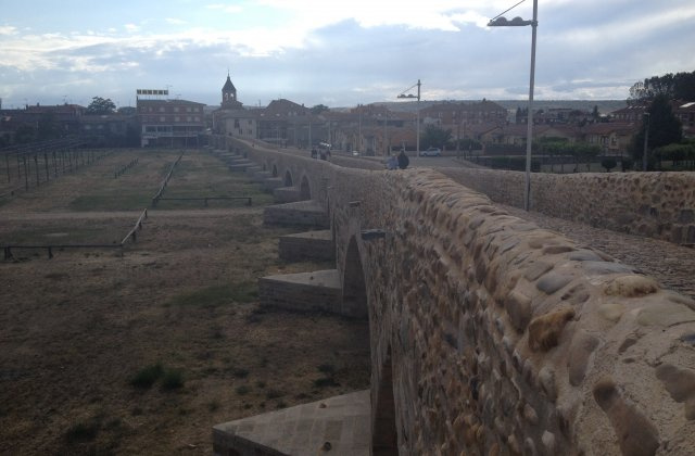 Photo of Hospital de Orbigo on the Camino de Santiago