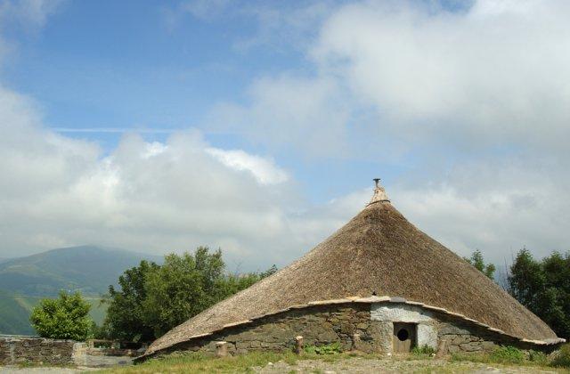 Photo of O Cebreiro on the Camino de Santiago