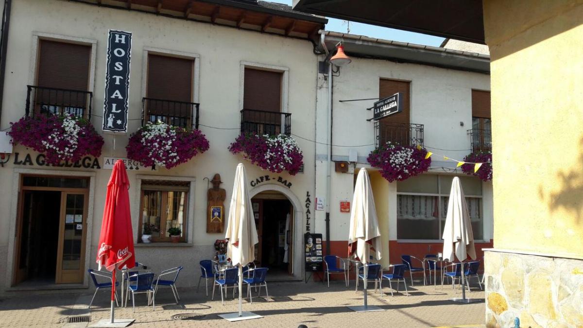 Camino de Santiago Accommodation: Albergue La Gallega