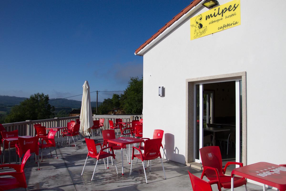 Camino de Santiago Accommodation: Albergue Milpes